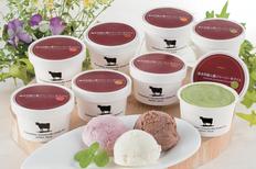 熊本阿蘇山麓ジャージー牛アイス(4種計8個)の画像