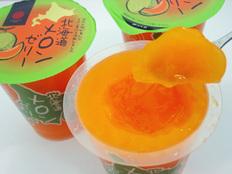 函館スイーツ&エチュード洋菓子店 北海道メロンゼリー&巨峰果汁ぶどうゼリー大容量410g×8個セットの画像