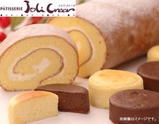北海道 ジョリ・クレール ロールケーキ&スフレセットの画像