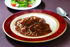 【メール便】新宿中村屋 国内産牛肉使用 贅沢ビーフカレー&ハヤシ 5食 の画像