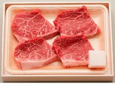 松阪牛ももステーキ用(4枚)400gの画像