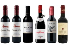 エノテカ売れ筋赤ハーフワインセットの画像