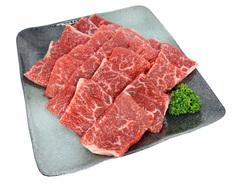 肥後熊本牛焼肉用赤身モモ400g(HGMY-50)の画像
