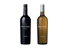 ボルドーワイン赤白セットの画像