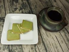 本山茶ラングドシャ18枚の画像