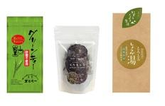 【メール便】くろもじ茶、農薬不使用とろとろしょうが湯、砂糖不使用グリーンティーの画像
