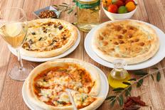 リストランテマッサ監修3種のこだわりナポリ風ピッツァの画像